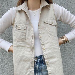 Grey/Khaki Cherokee Button Up Shirt